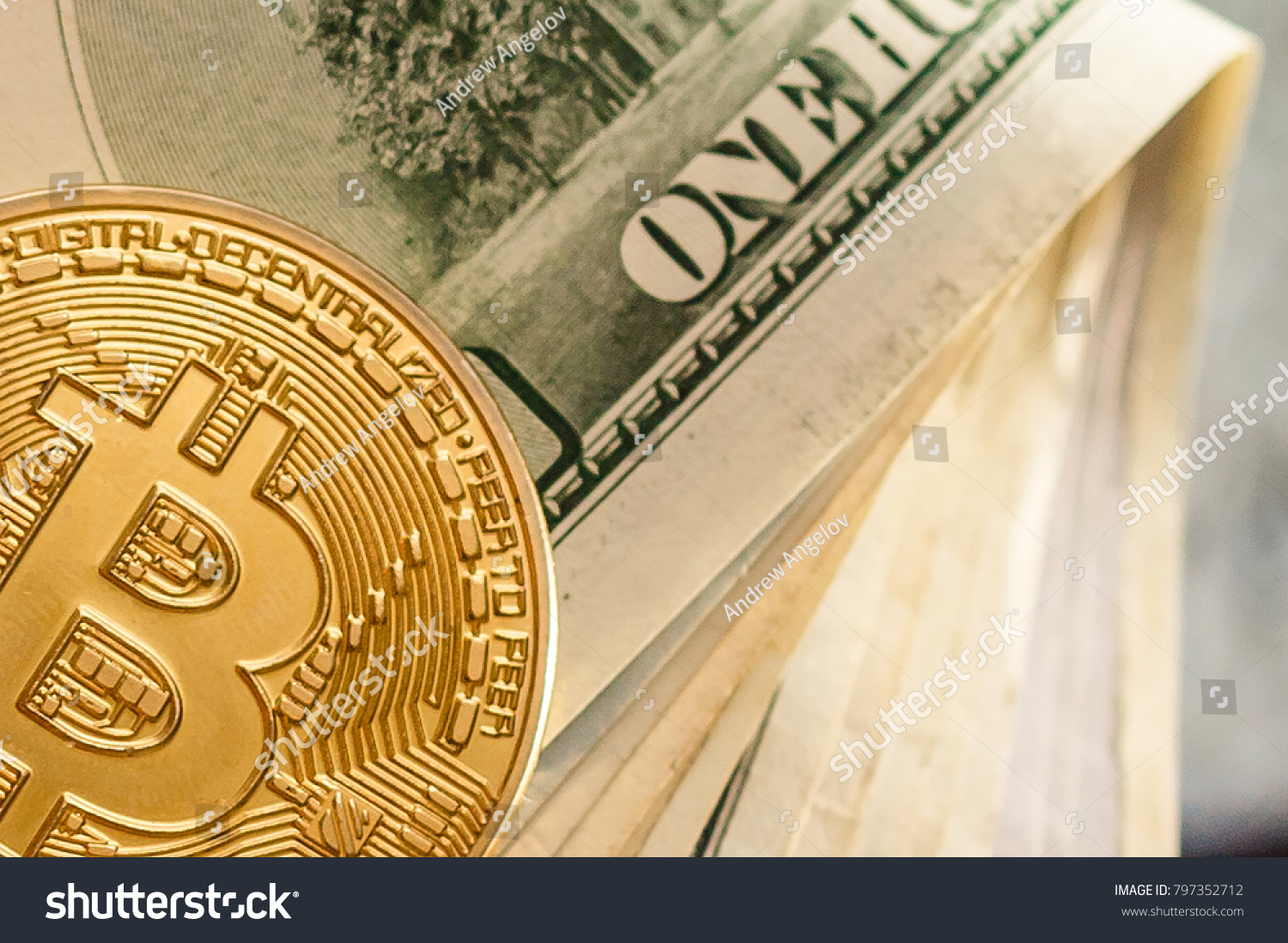 Bitcoin dollar btc market symbol cryptocurrency stock photo bitcoin and dollar btc market symbol cryptocurrency rising above the united states dollar gold biocorpaavc Images