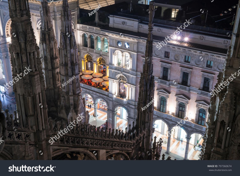 Milan Italy January 10 2018 Terrazza Stock Photo (Download Now ...
