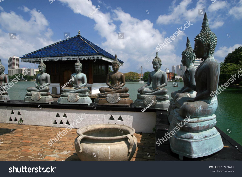 Seema Malaka Buddhist Temple Colombo Part Stock Photo (Edit Now