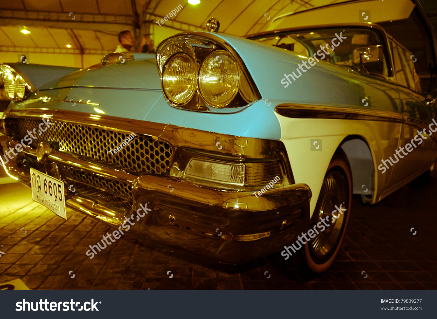 Pathum Thani Thailand  City pictures : PATHUM THANI,THAILAND JUNE 23: a Ford Skyliner on display at the 35th ...