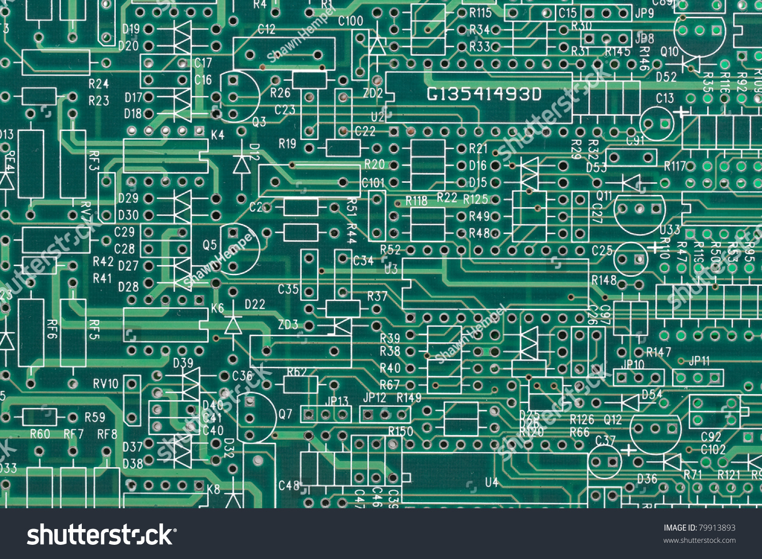 empty electric circuit layout technology network stock photo (editempty electric circuit layout technology or network background