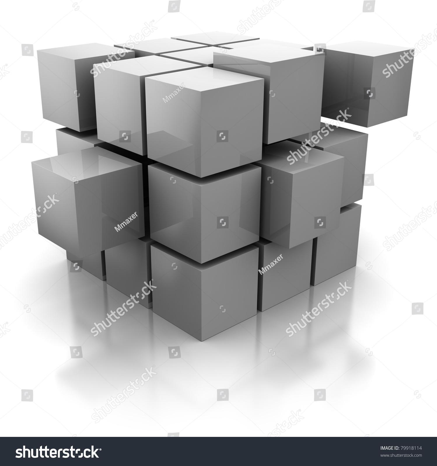 Building blocks abstract stock photos