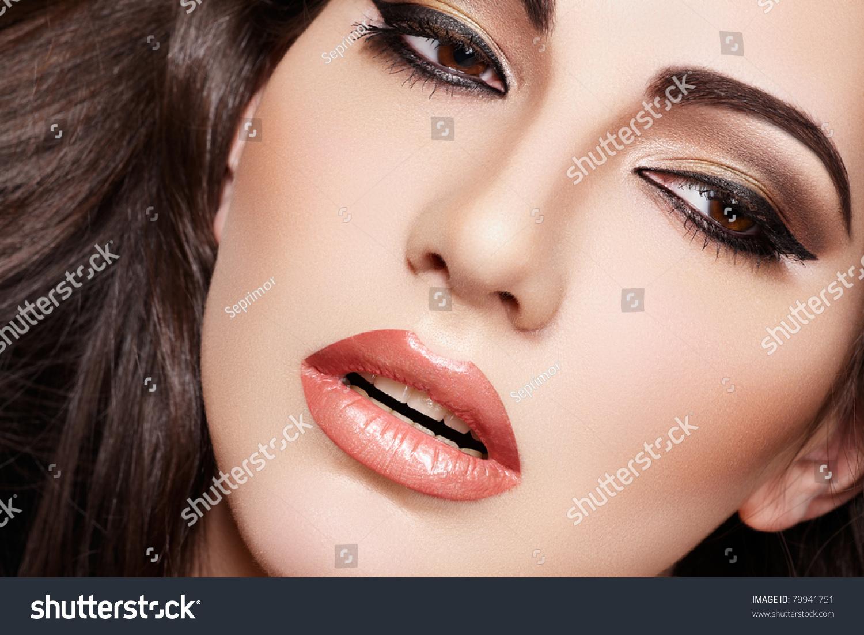 Oriental Style Sensual Arabic Woman Model Stock Photo Edit Now