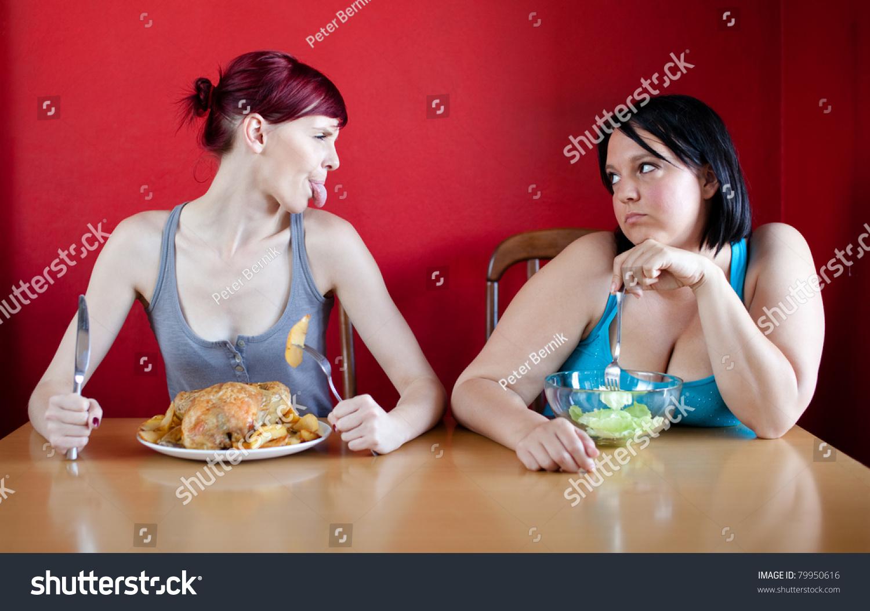 skinny eating