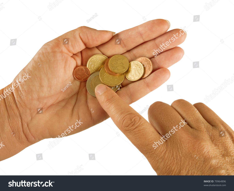 Counting Small Change Aka Coins - Euros, Eurozone Crisis, Poverty ...
