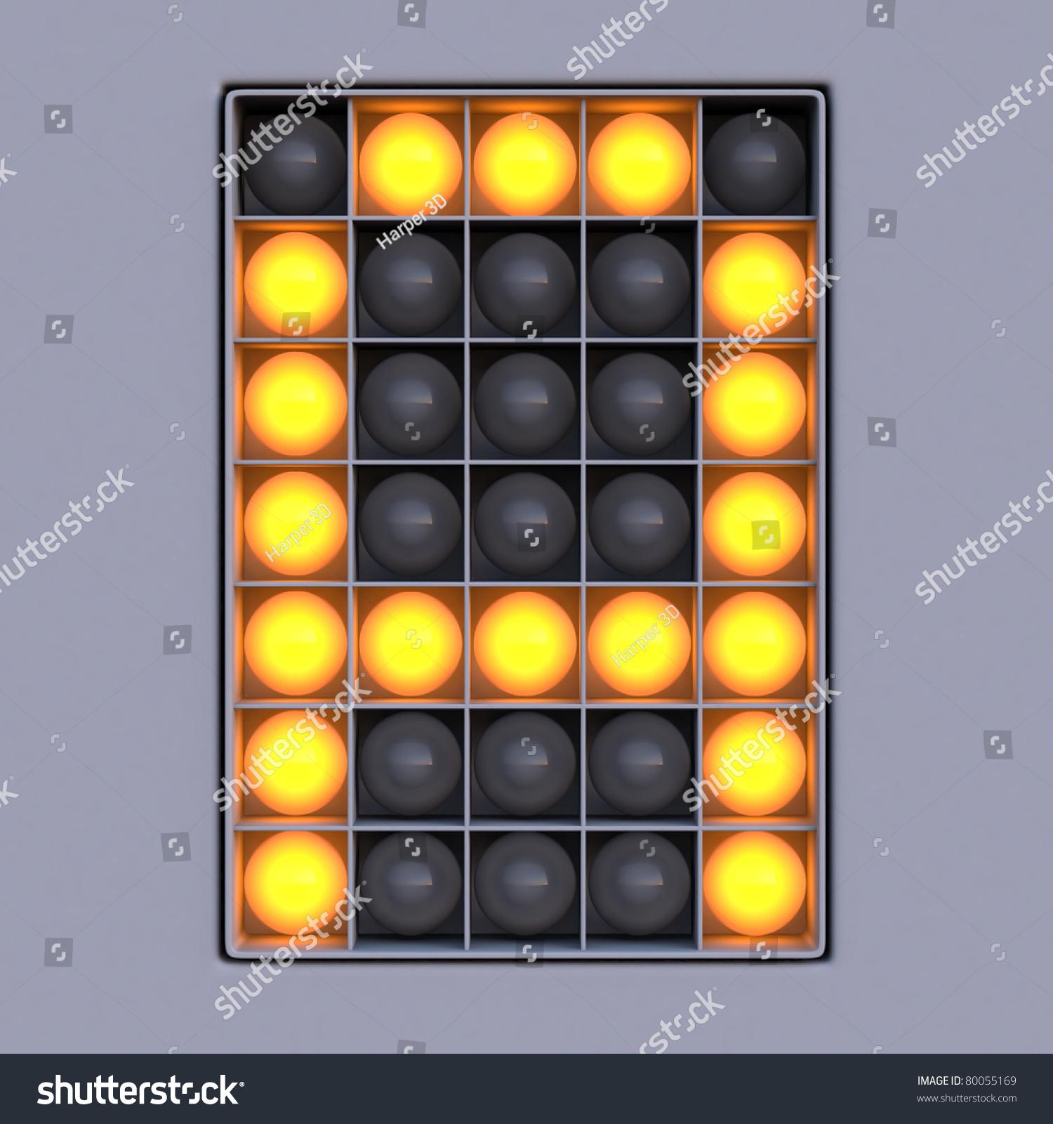 Diode Images Stock Photos Vectors Shutterstock Electronic Circuit Symbols Vector Illustration 1445110 Letter Scoreboard Alphabet 5x7 Lights