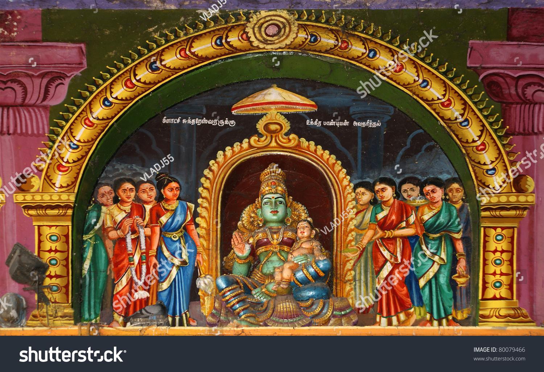 Image Gallery hindu temple interior india