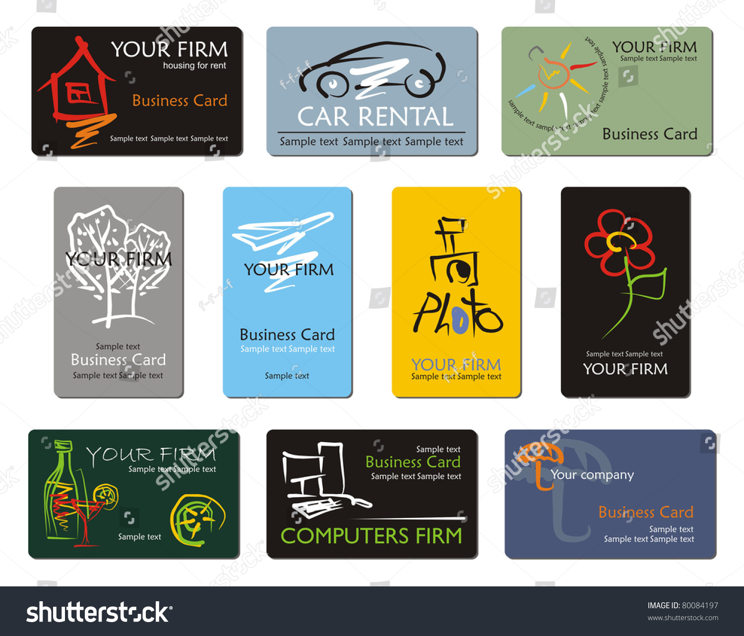 Business cards southport choice image free business cards car rental business card choice image free business cards different business card templates vector stock vector magicingreecefo Gallery