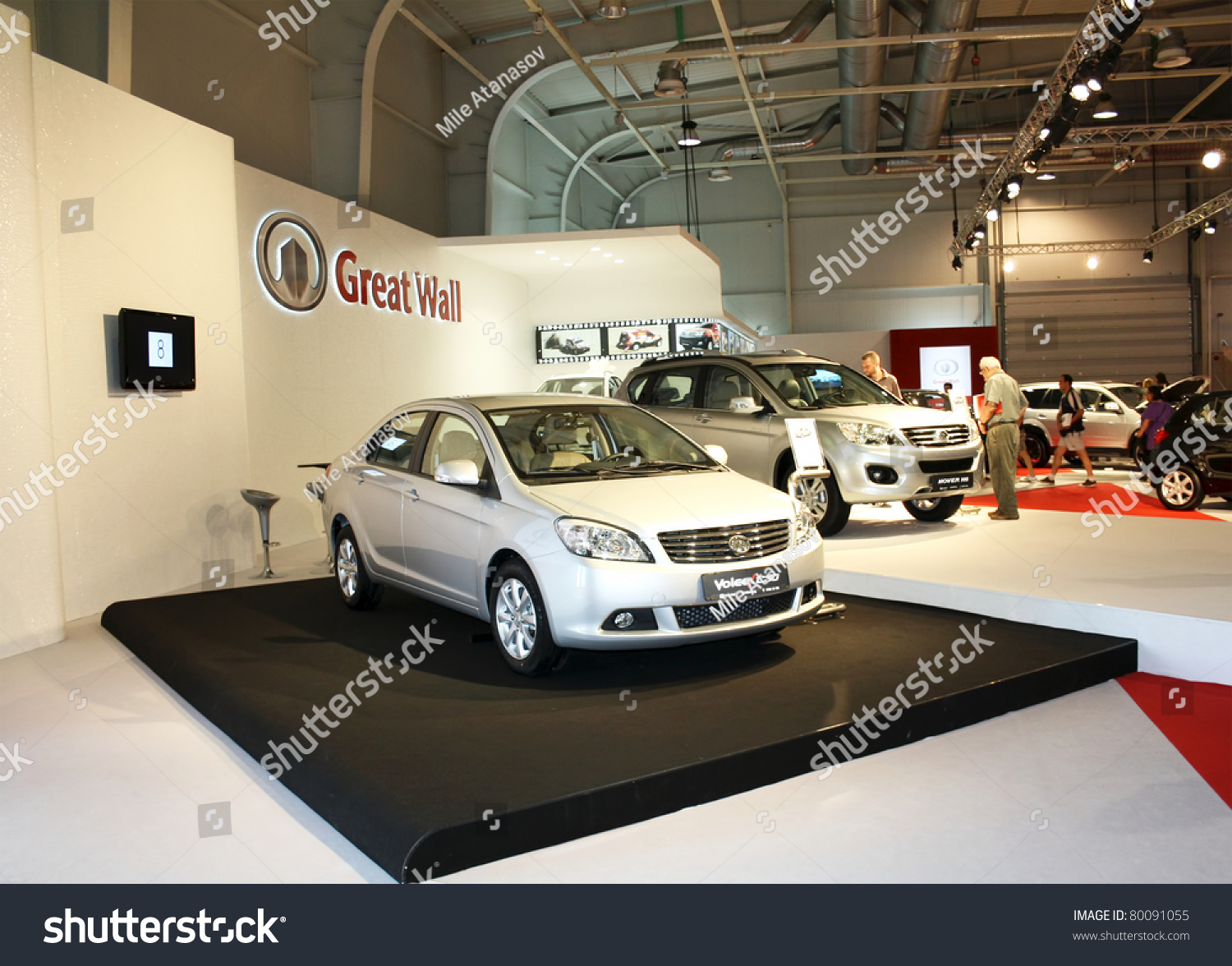 Sofia bulgaria june 19 chinese car manufacturer great for Great wall motors stock