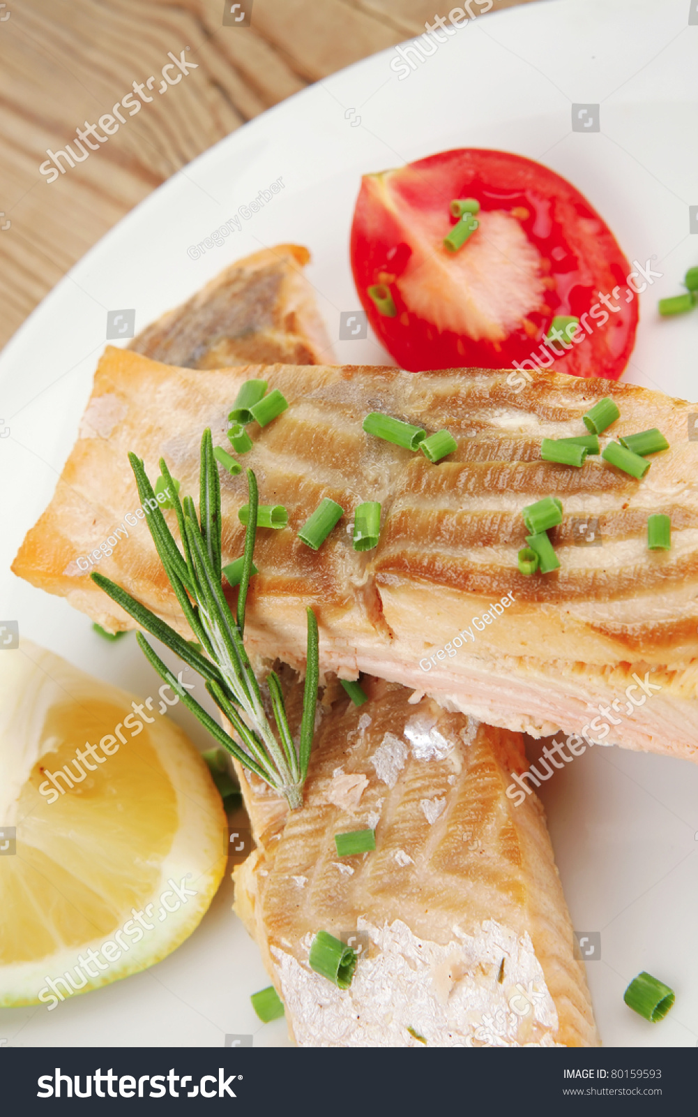Amazing dish - pink salmon in the oven 29