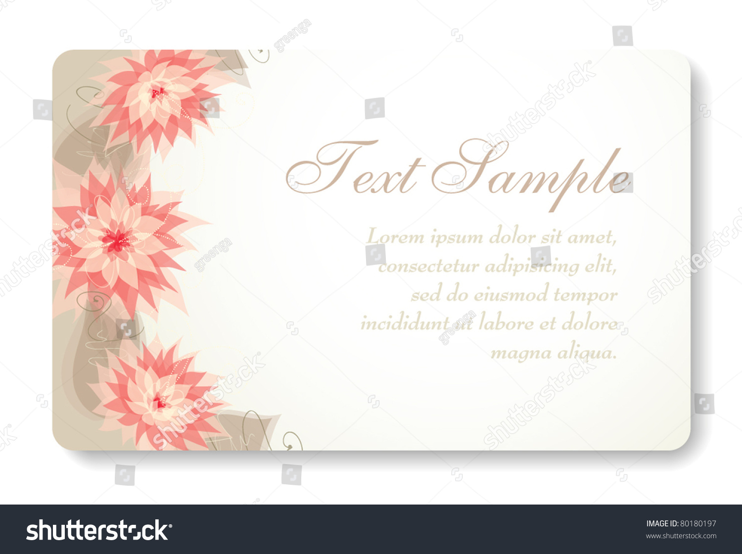 Credit Card Business Card Background Design Stock Vector 80180197 ...