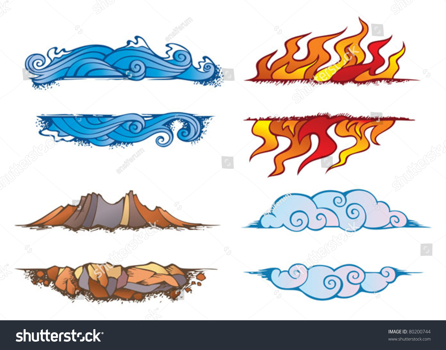 Chinese Symbol For Earth Wind Fire And Water Gallery For