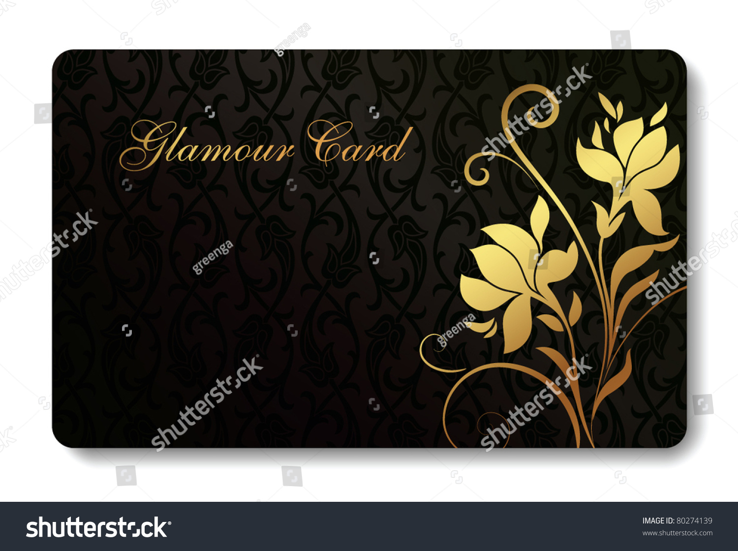 Credit Card Business Card Background Design Stock Photo (Photo ...