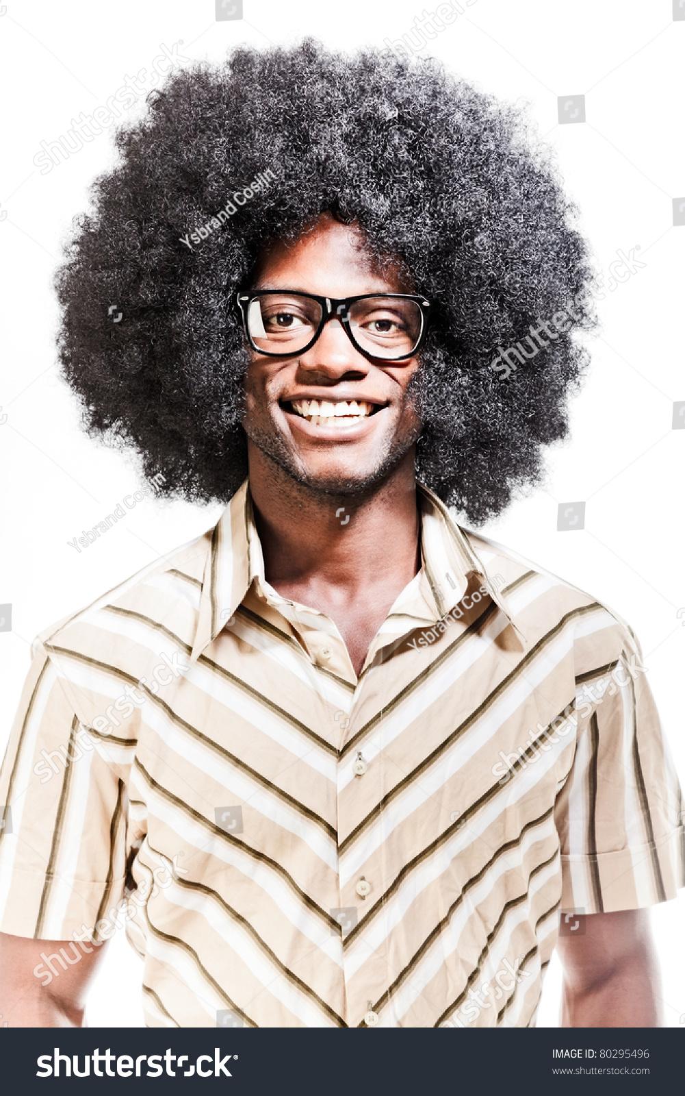 c2b7d0181abc Studio Portrait Cool Black Young Man Stock Photo (Edit Now) 80295496 ...