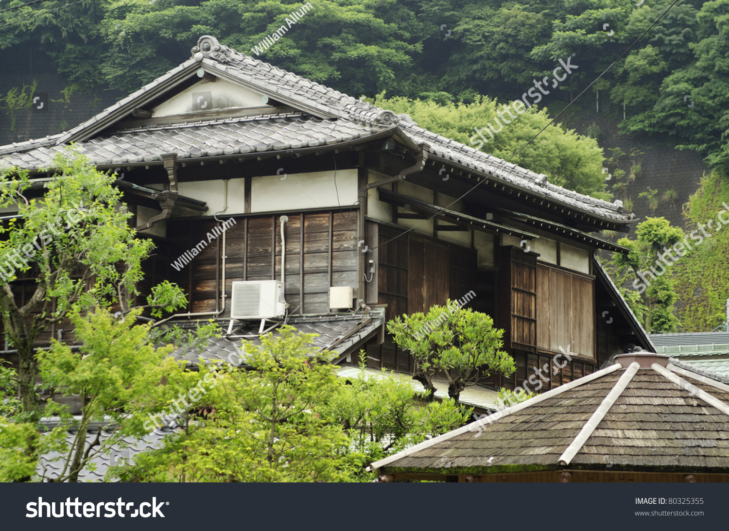 Old traditional japanese house stock photo 80325355 for Old traditional houses