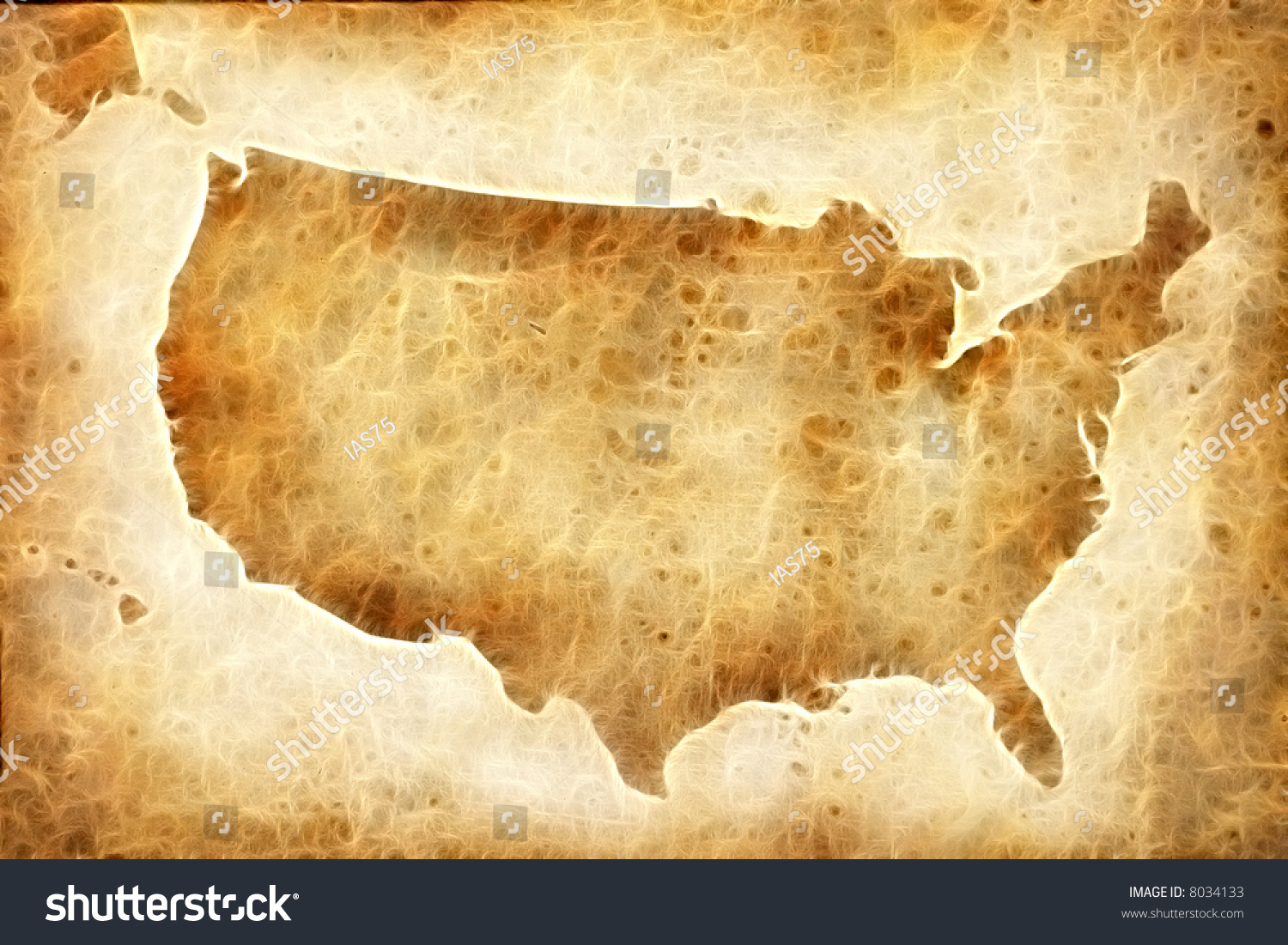 Background Map USA Old Map USA Stock Illustration   Royalty Free