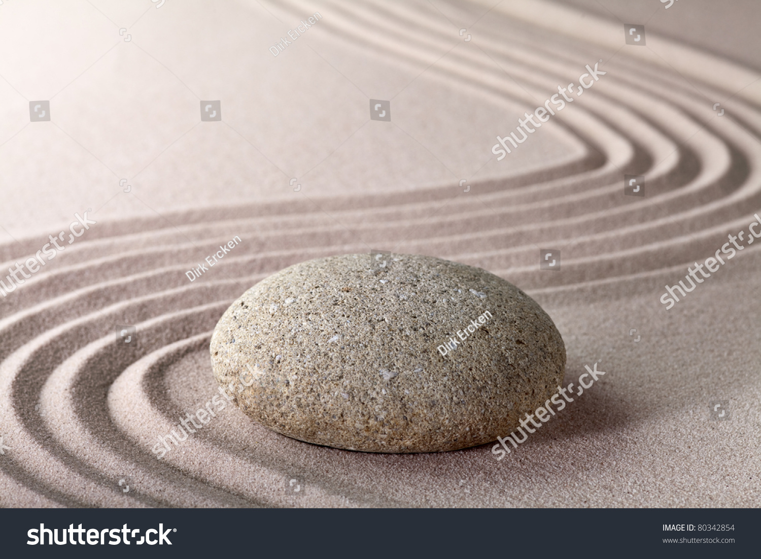 Japanese zen gardens top view - Relaxation Zen Garden Japanese Garden Zen Stock Photo 80342854
