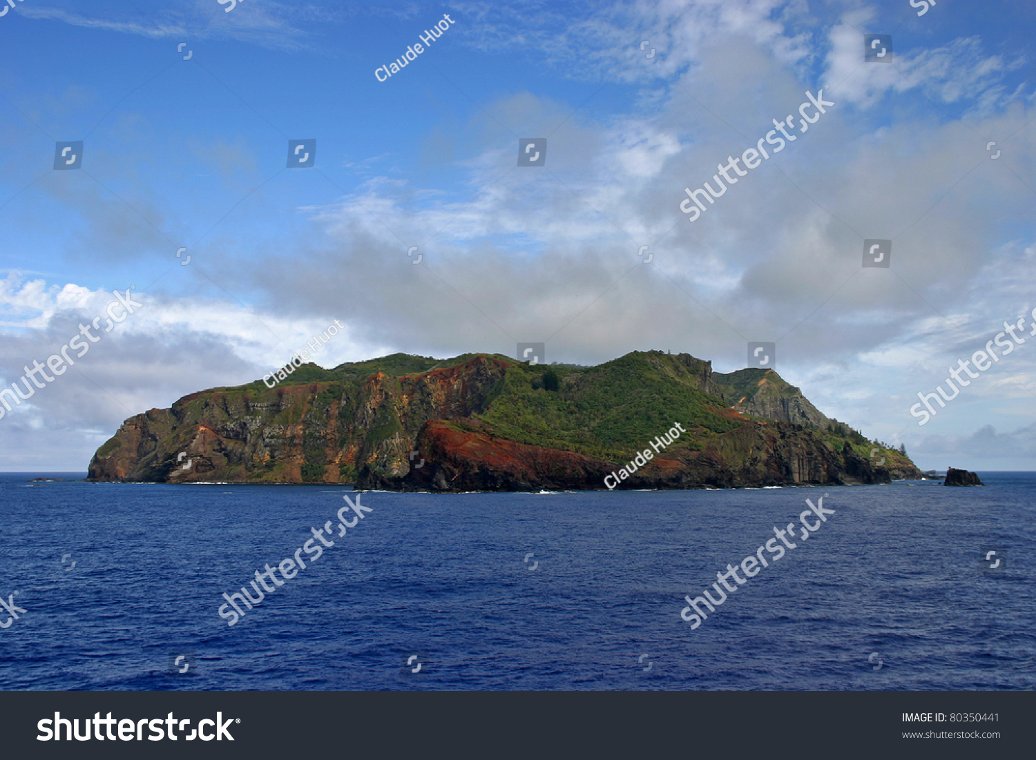 Pitcairn Island is a volcanic island and the last of the British Territories in the South Pacific ocean