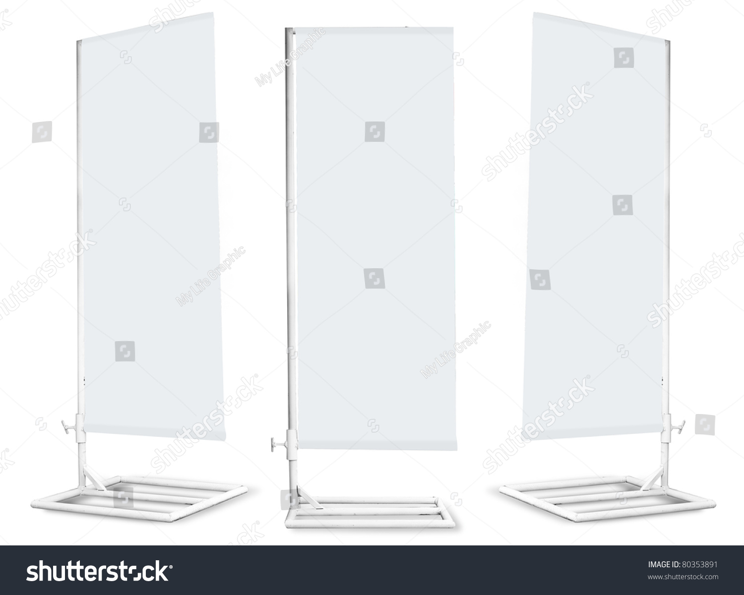 blank banner japanese flag display template stock illustration, Powerpoint templates