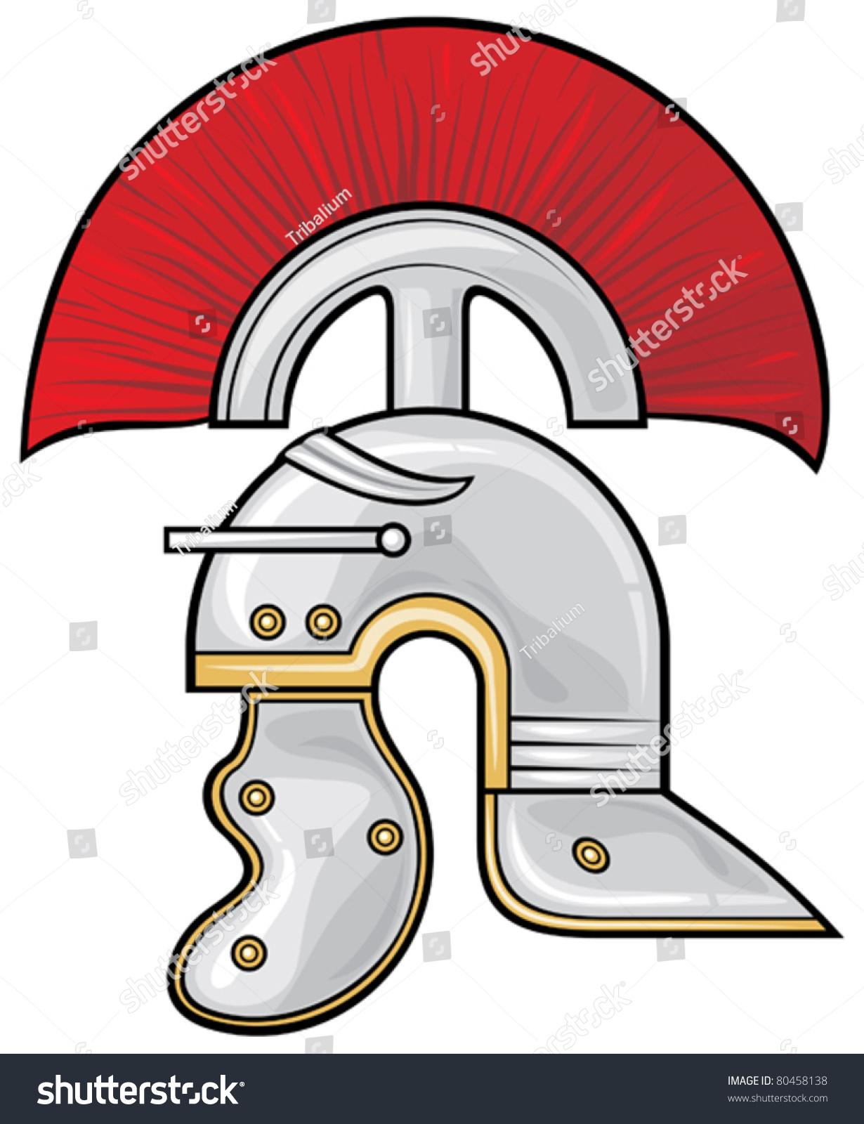 roman helmet stock vector 80458138 shutterstock