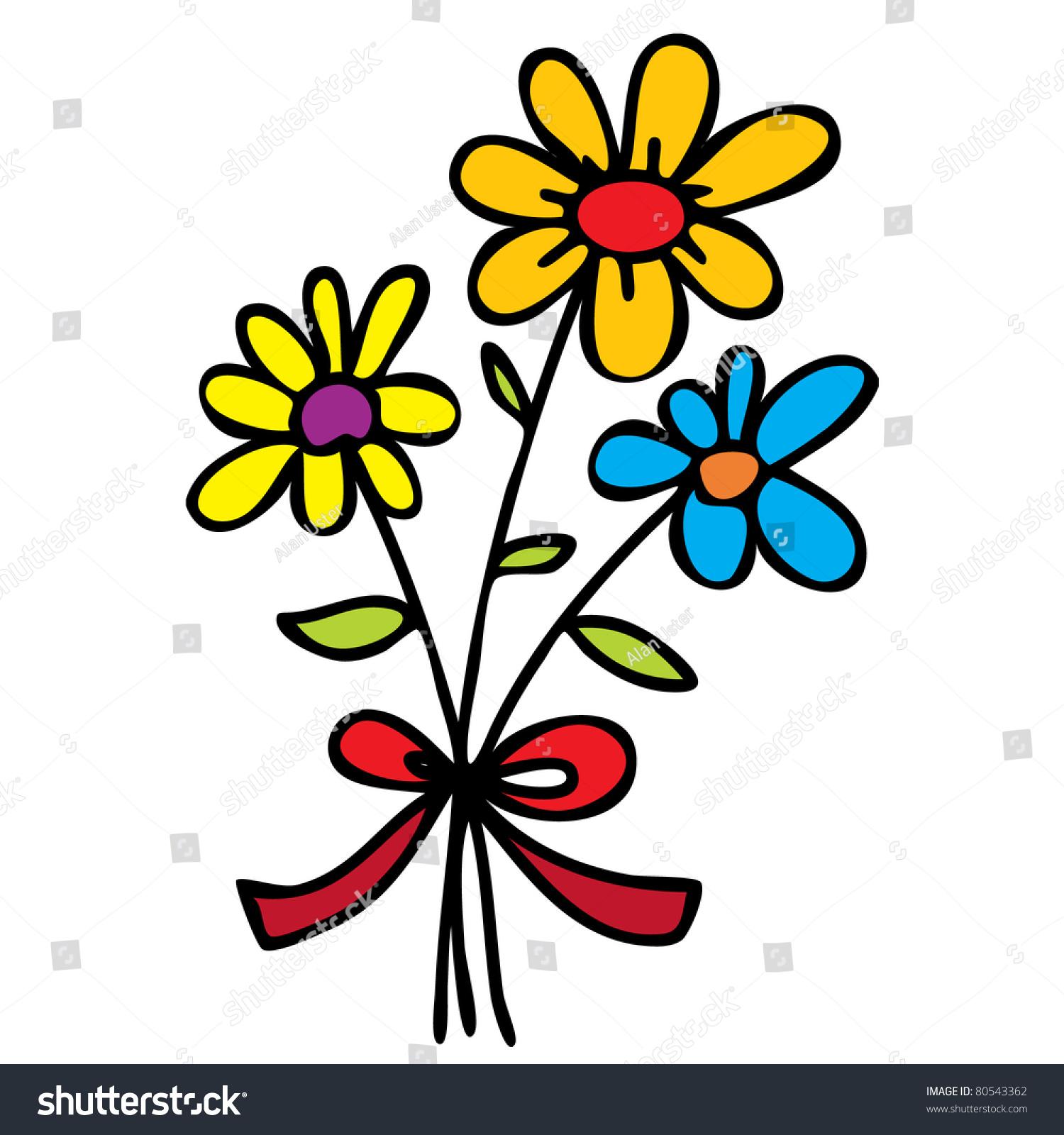 Cartoon Flowers Images cartoon flowers stock photos, images ...