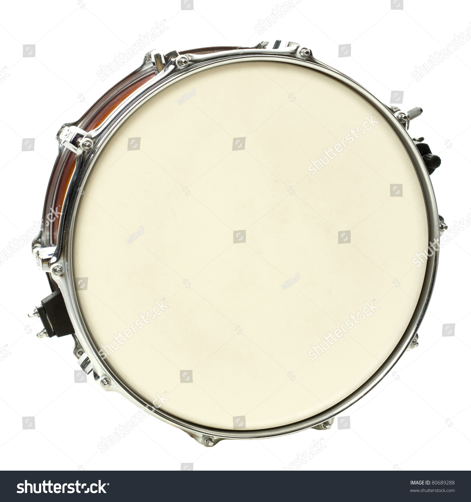 Image Of Drum Under The White Background Ez Canvas Snare Photography For Diagram
