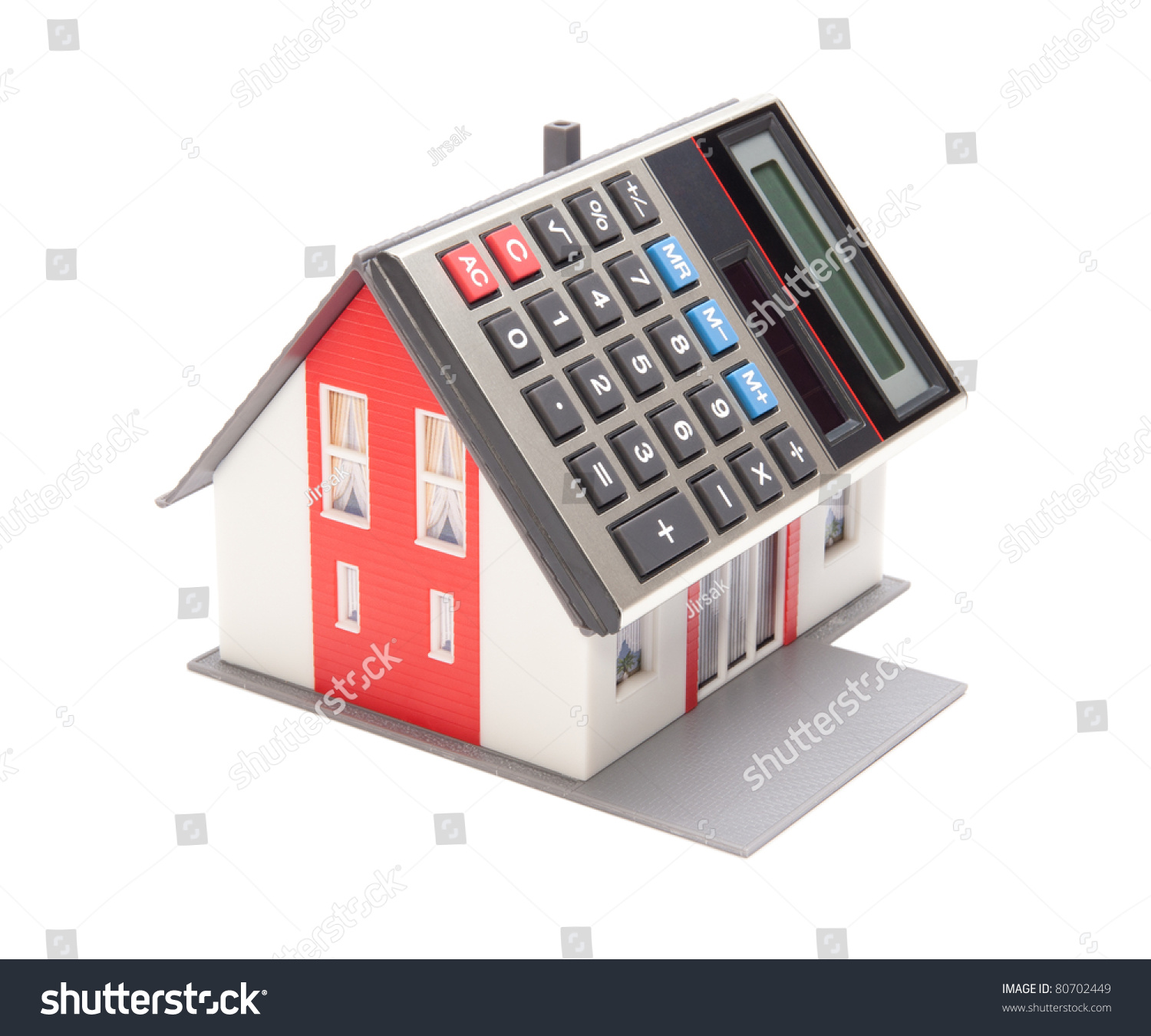 Home financing cost of occupancy concept model of the for Home building estimate calculator