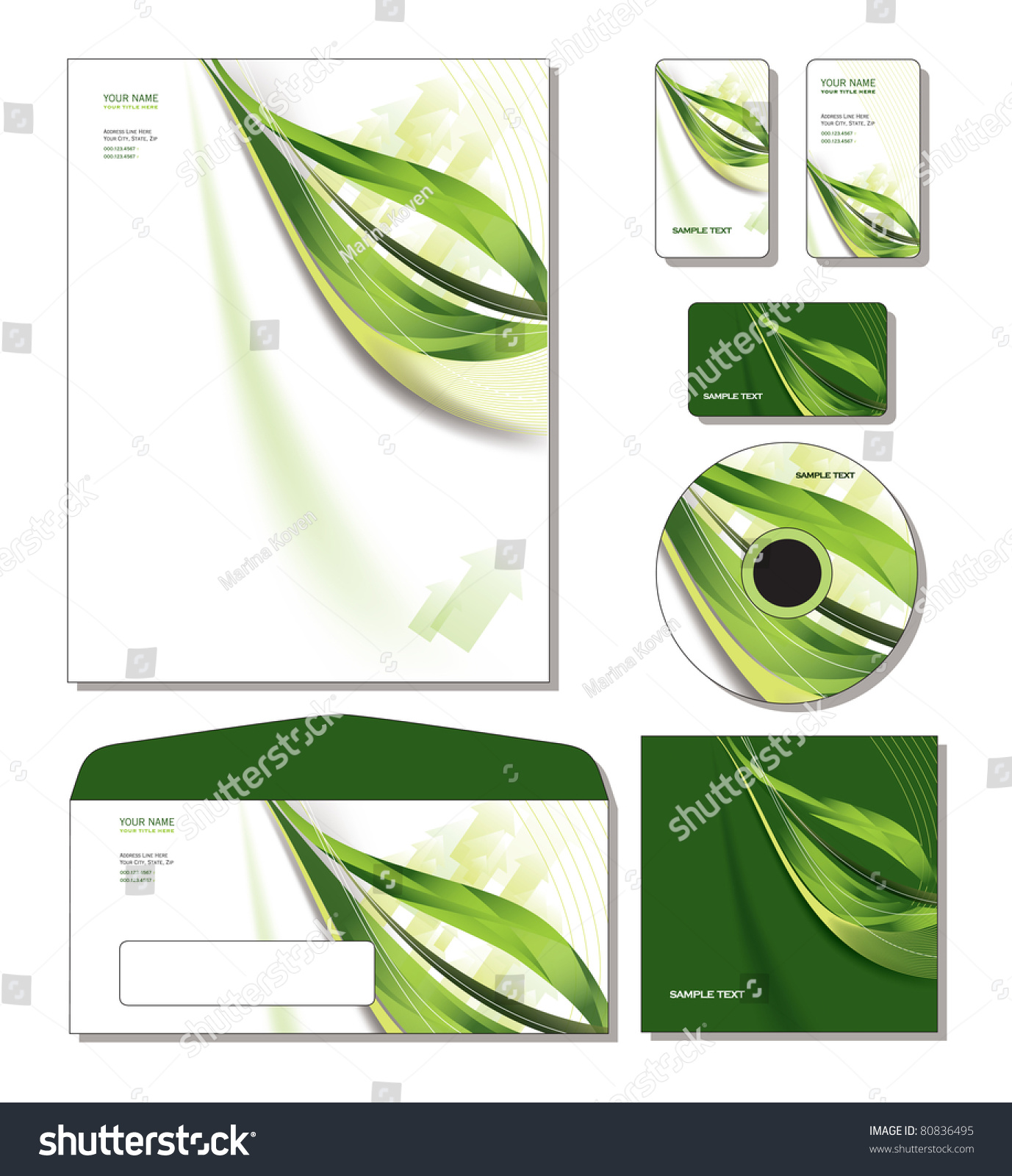 Corporate Template Vector Letterhead Business And Gift Cards – Sample Gift Card Envelope Template