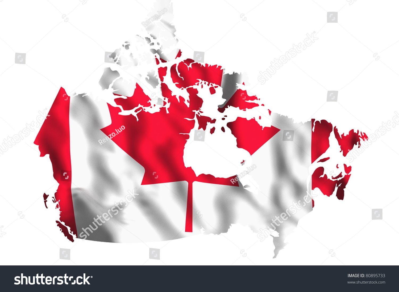 canada flag stock illustration 80895733 shutterstock