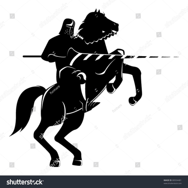 Knight On Horse knight...