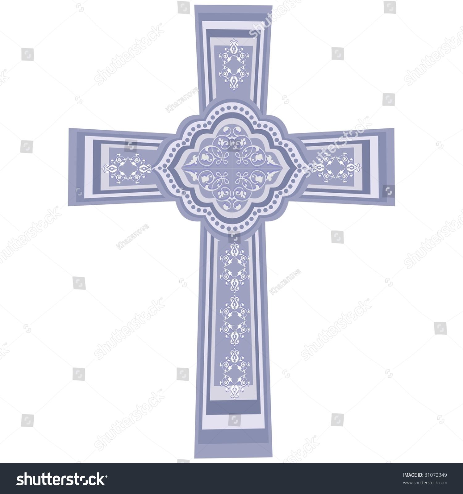 Vector christian cross crucifix symbol christian stock vector vector christian cross crucifix symbol of the christian faith eps8 organized in biocorpaavc Gallery