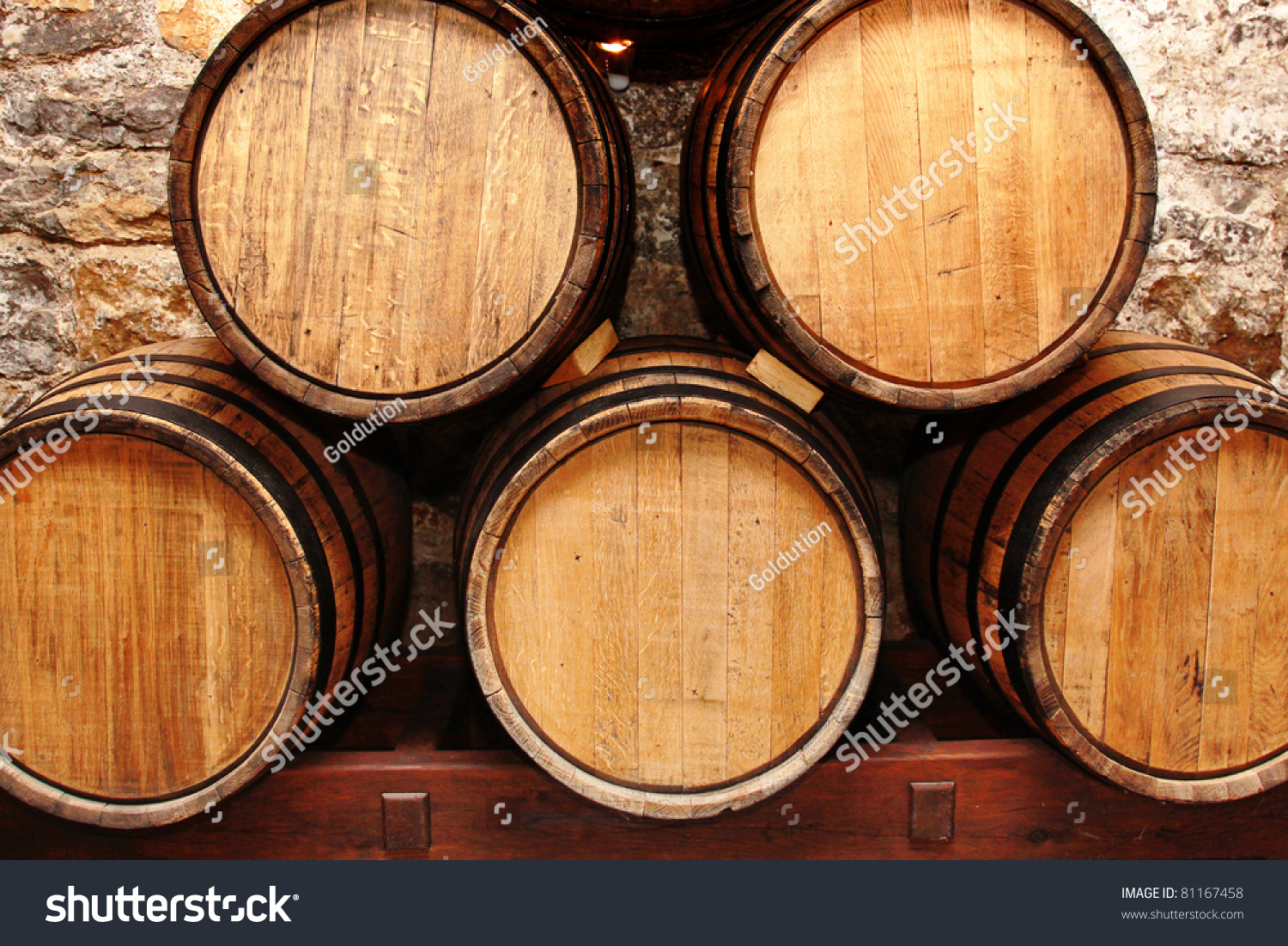 Storage oak wine barrels Amazon Alamy Close Up View At Lot Of Barrels In Storage Ez Canvas
