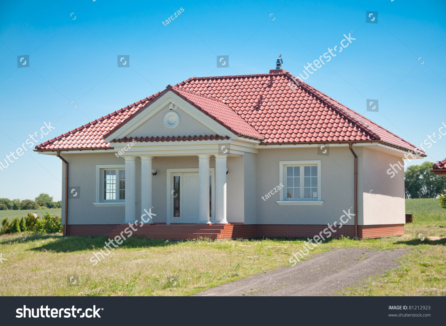 New Small One Family House Stock Photo 81212923 Shutterstock