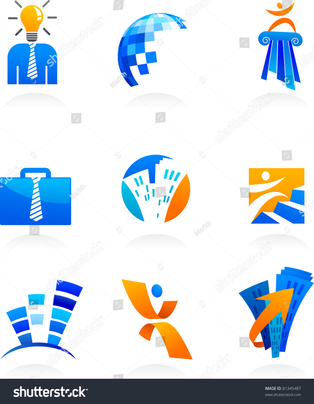 Stock Vector Collection Of