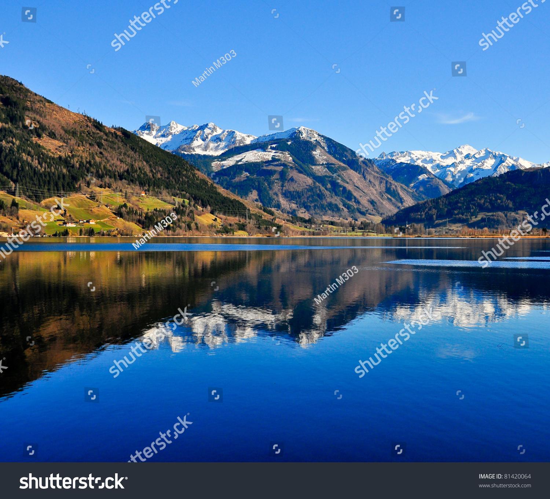 Mountain Lake Landscape View Stock Photo 81420064 - Shutterstock
