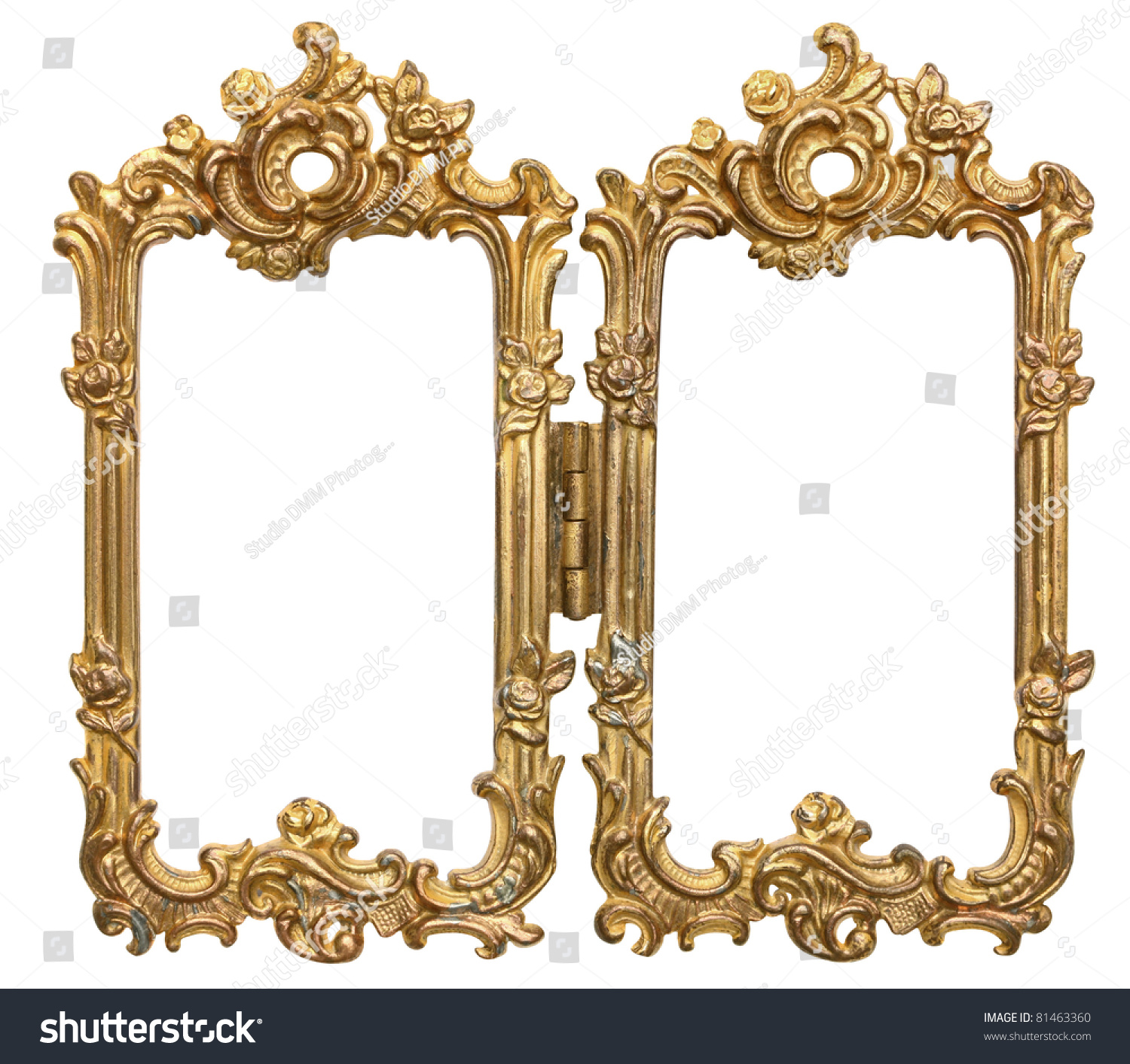 Ornate Double Frames Hinge Stock Photo (Edit Now) 81463360 ...