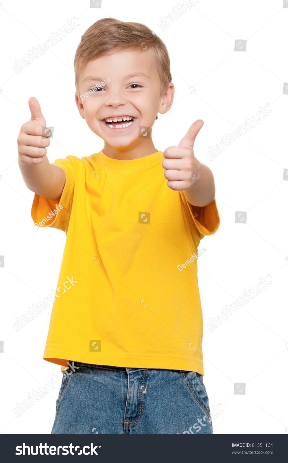 4 Year Boy Bedroom Decorating Ideas: Portrait Beautiful Little Boy Giving You Stock Photo