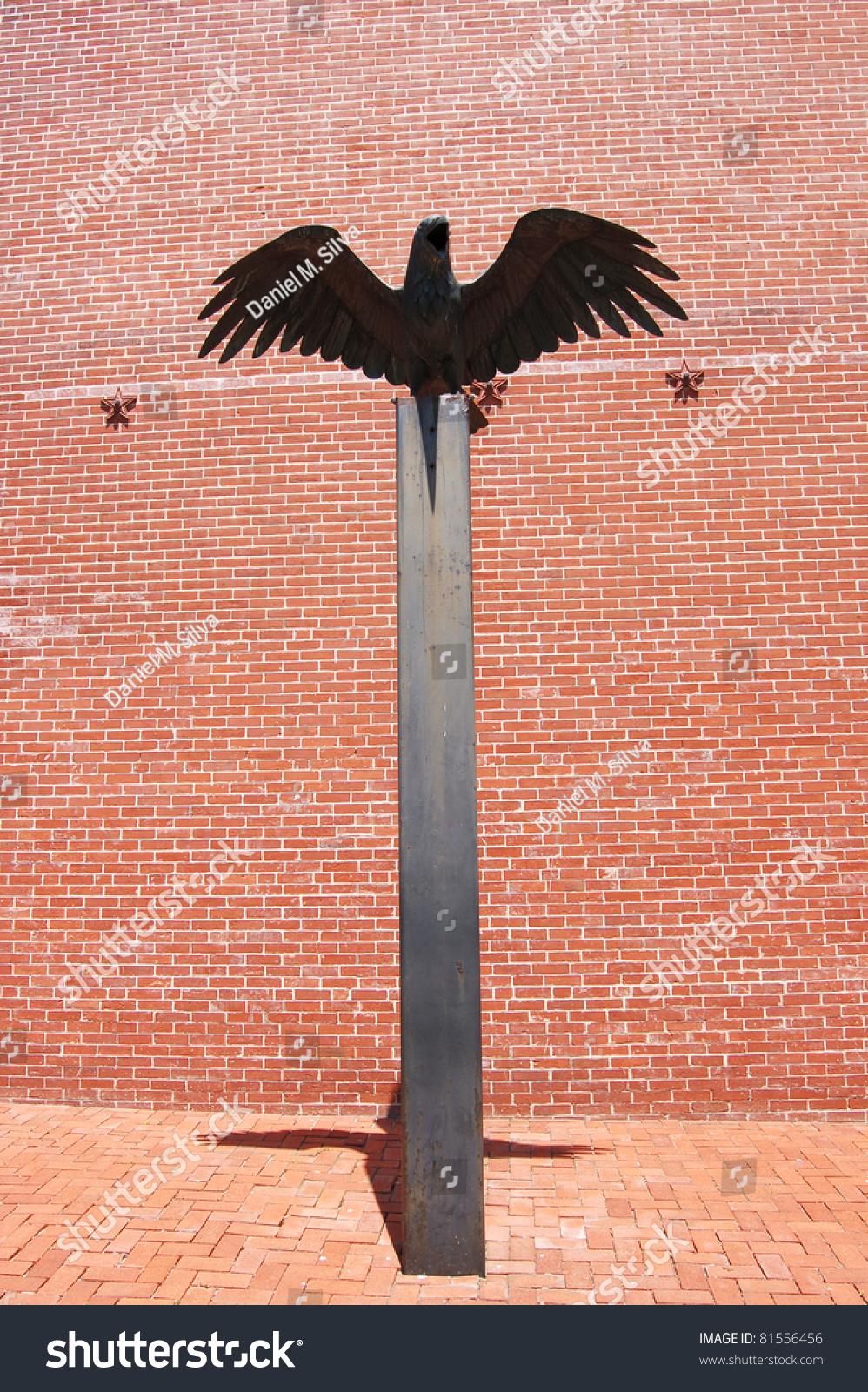 Raven Statue Interior Room Edgar Allan Stock Photo Edit Now