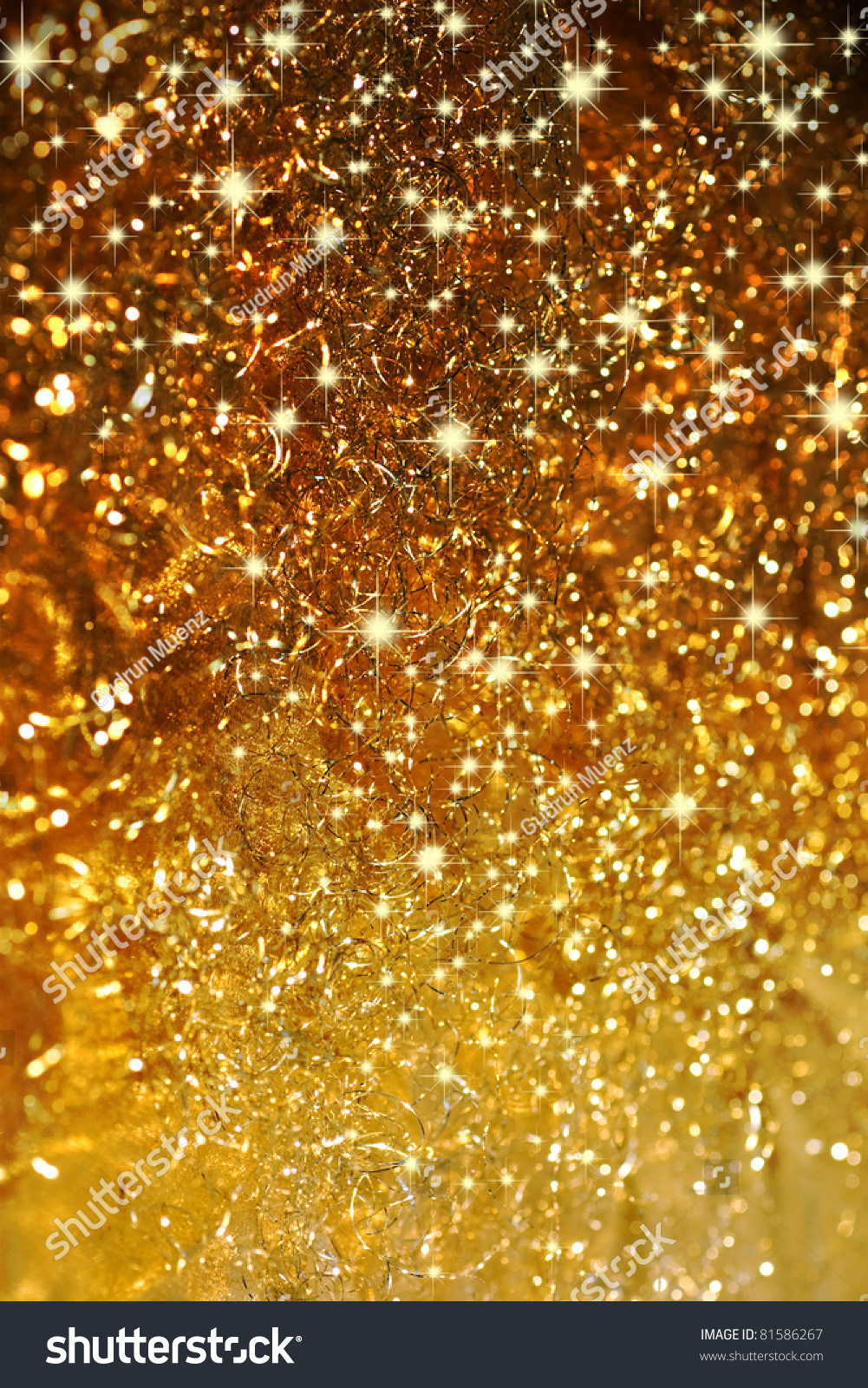 Beautiful Background In Gold With Stars Stock Photo ... - photo #28