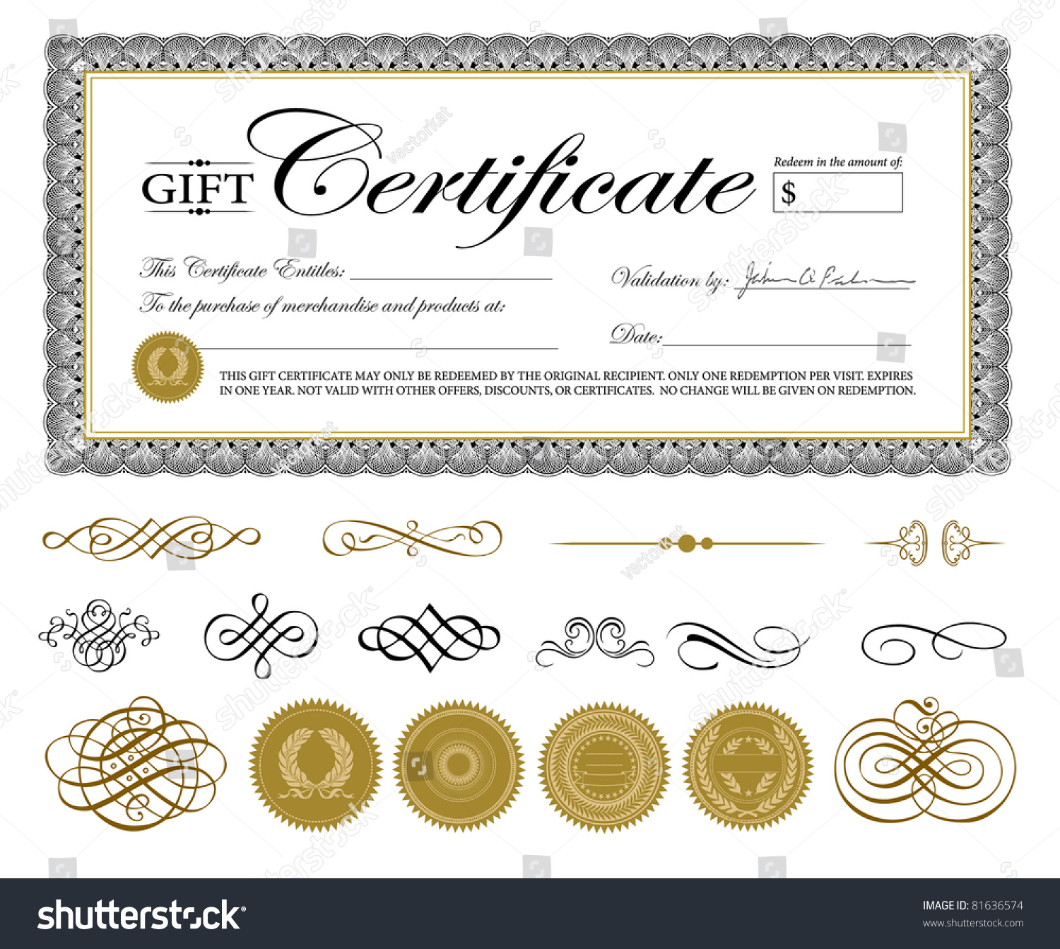Template For Gift Certificate unsecured loan agreement sample – Gift Certificate Template