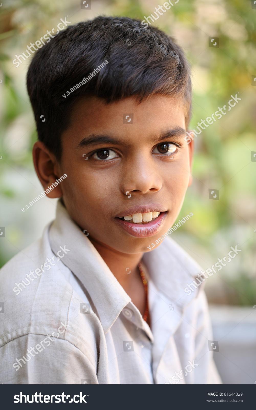 teenboy Portrait of Indian teen boy.