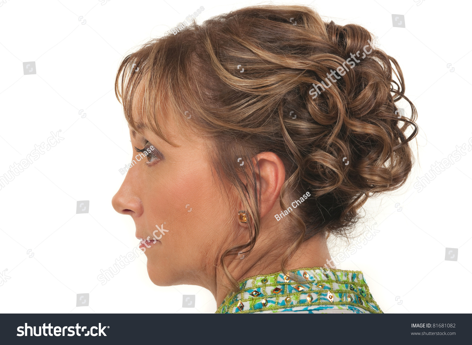 Beautiful Hairstyles For A Party : Beautiful hairstyle for a party or wedding older women