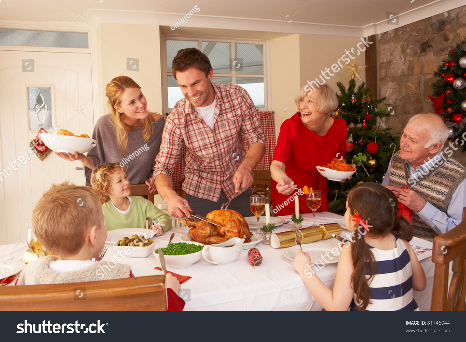Christmas family dinner witha a twist 6
