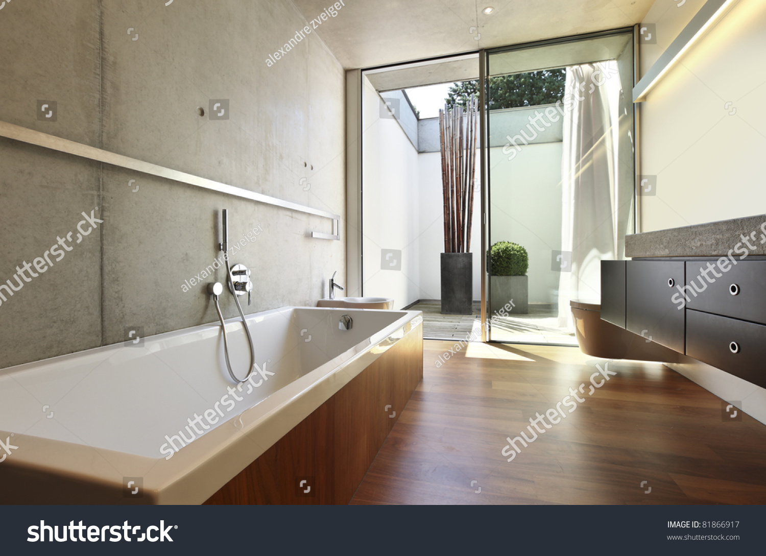 Modern house interior bathroom modern house for Modern interior bathroom