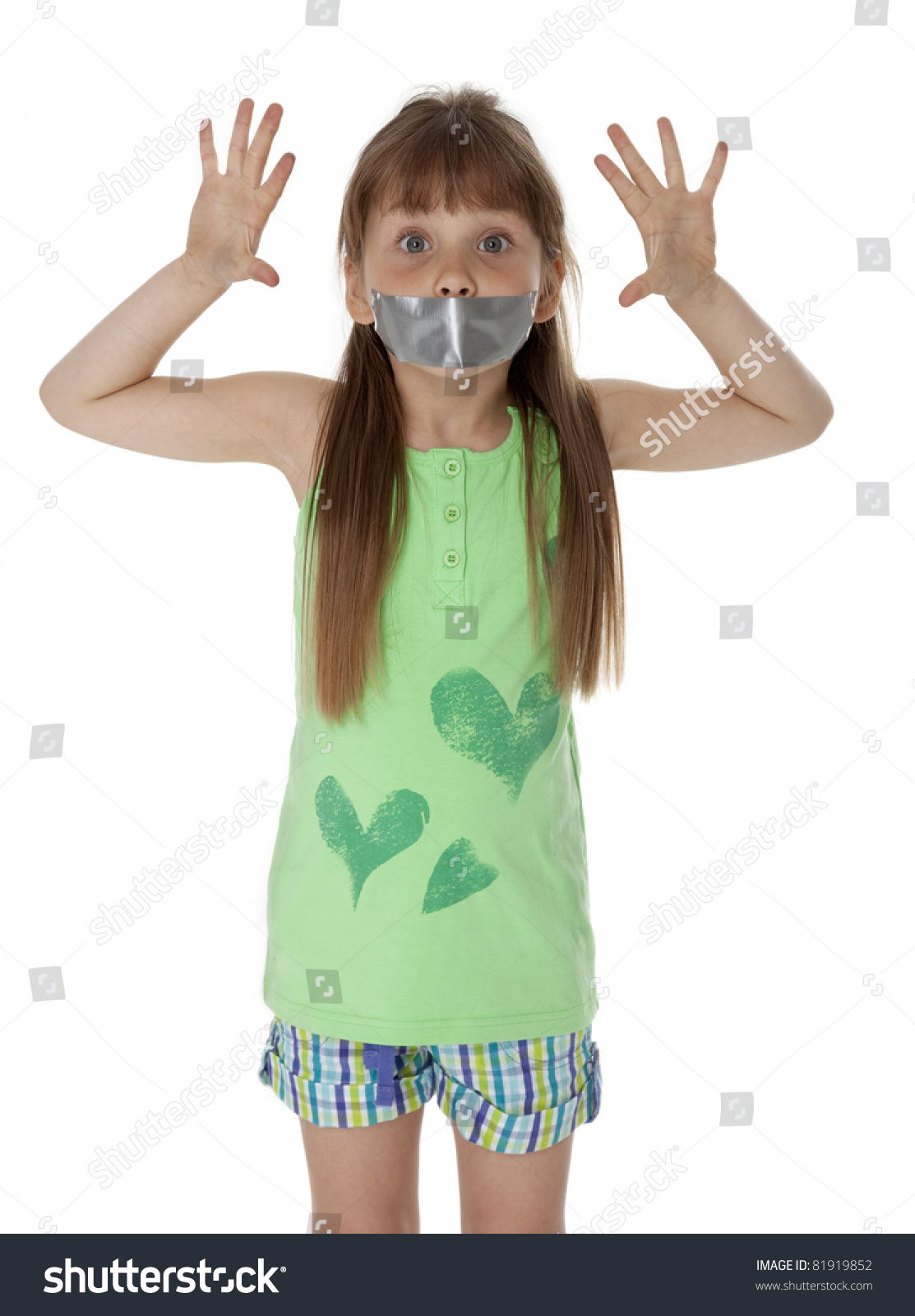 Little Girl Duct Taped Images Usseek Com