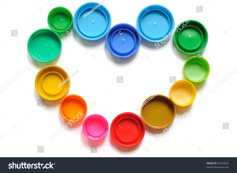 Colorful Plastic Bottle Screw Caps Used To Seal Plastic