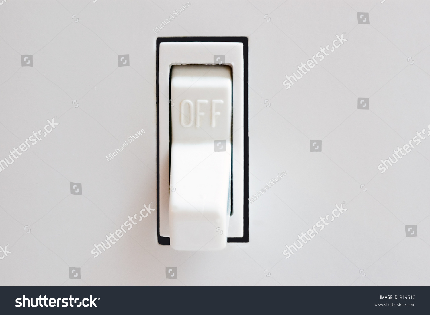 Light Switch Off Position Stock Photo 819510 - Shutterstock for Light Switch Off Position  143gtk