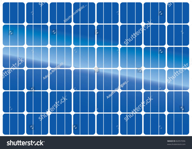 Satellite Panels Texture : Solar panels texture stock vector shutterstock