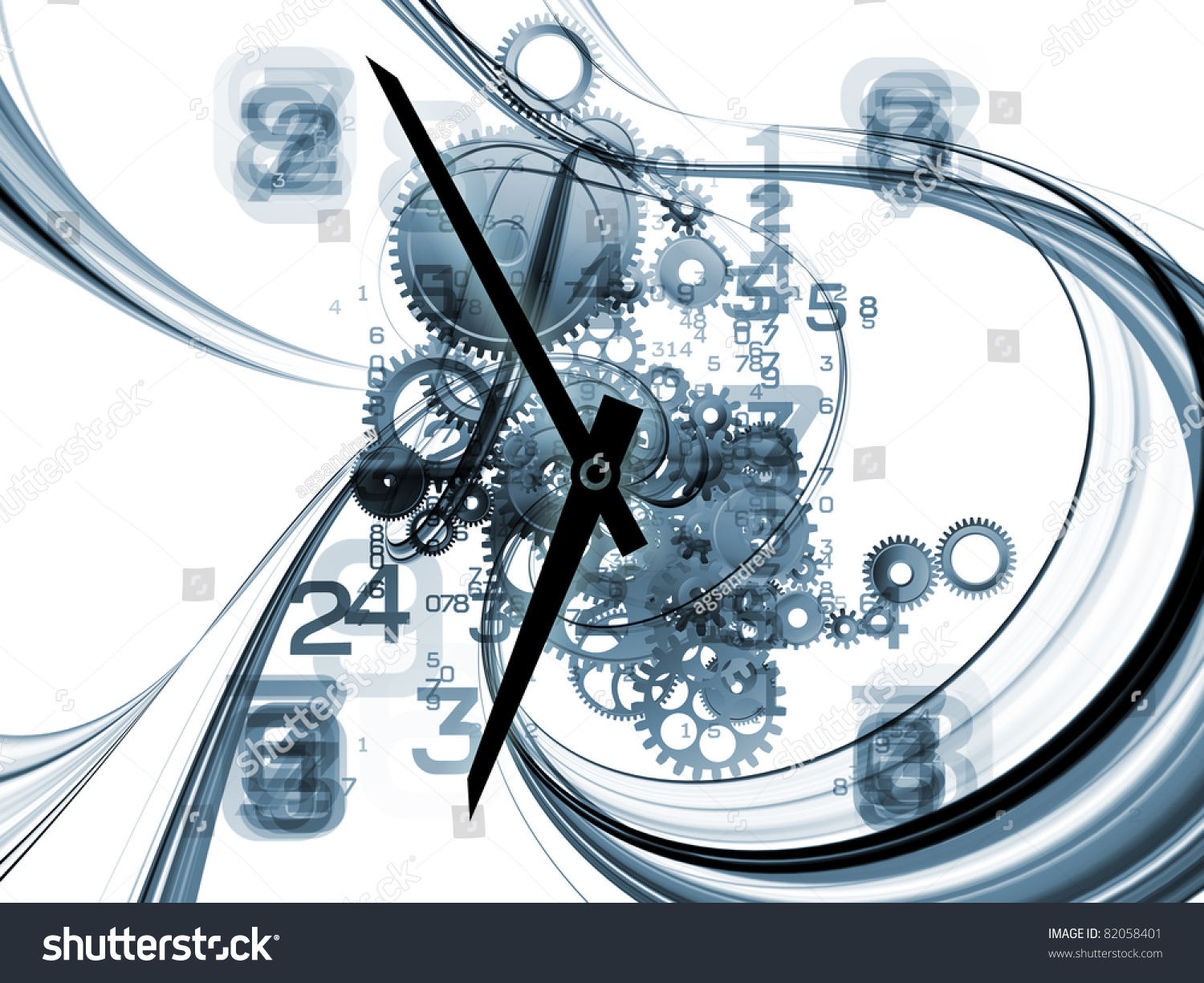 and clock abstract concept - photo #42