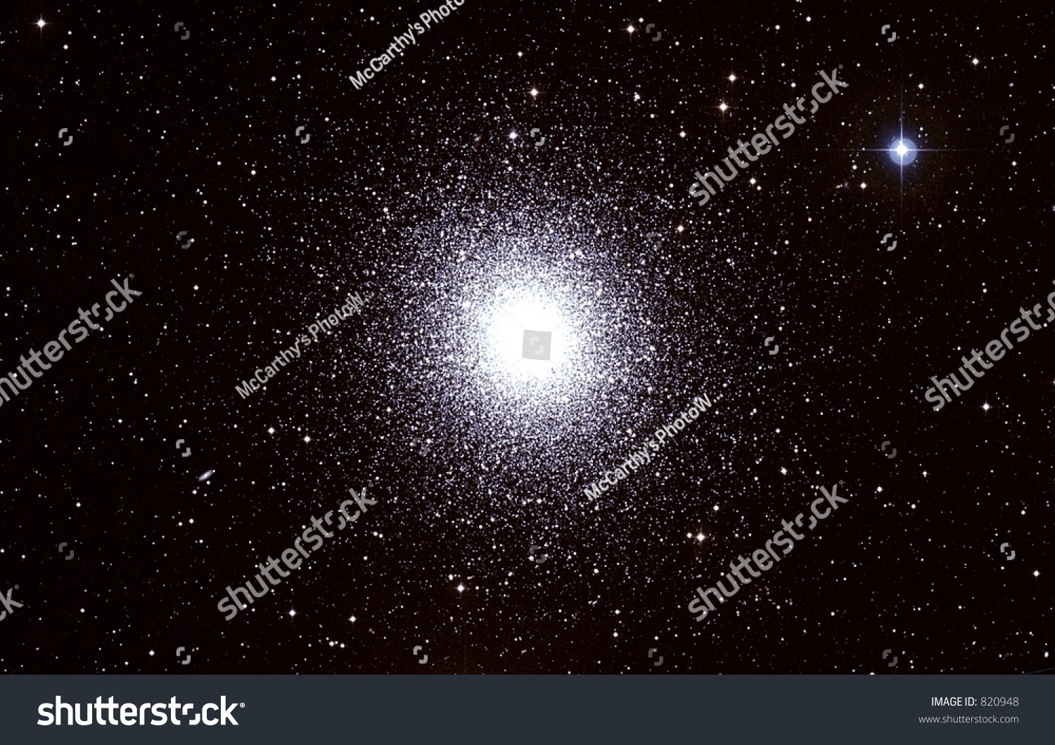 M13 Star Cluster File Has Visible Grain Stock Photo 820948 ...